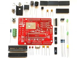 CANADUINO Uno Bone Maxxx - Arduino Uno R3 compatible - Atmega328P - smarter electronics by universal solder
