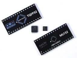 SMD DIP Adapter TQFP32 MLF32 - smart electronics by universal solder