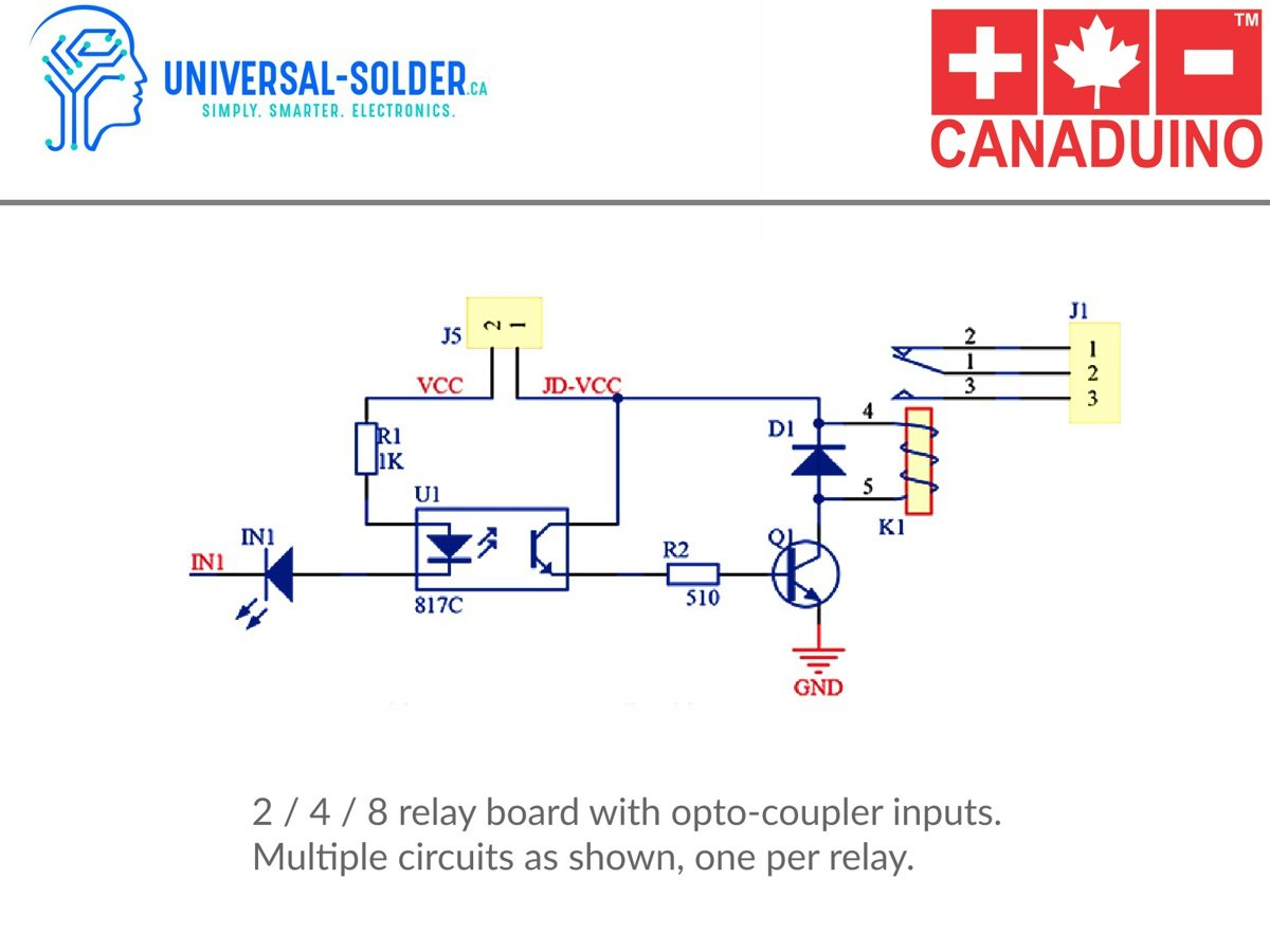 2 Relay Module Shield 10a With Opto Inputs 3 24v Coupler Schematic