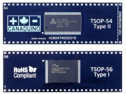 SMD DIP Adapter TSOP Type 1 Type 2 - smart electronics by universal solder