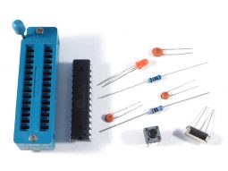 Arduino Uno Bread Board Parts kit ZIF socket - smarter electronics by universal solder