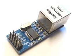 10Mbit Ethernet LAN Module ENC28J60 for Arduino and other micro controllers