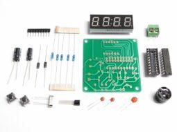 Digital LED Clock Module 4-Digit, Dual Alarm, Counter, Countdown