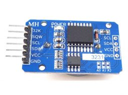 RTC Real Time Clock DS3231, 32kB EEPROM, I2C Interface
