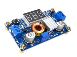 DC-DC Converter 5A 75W Adjustable, LED Voltage Display