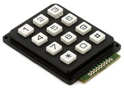 3x4 Array Matrix Keypad for Micro Controller