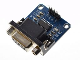 RS232 to TTL adapter MAX232, provides RS232 port for MCU, Arduino