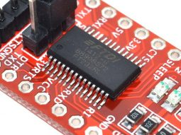 FTDI FT232RL USB-TTL serial adapter, 3.3V/5V operation