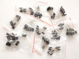 120 pcs Ultimate Electrolytic Capacitors Kit 220nF-470µF