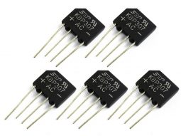 5 pcs Bridge Rectifier KBP307G 3A 1000V Single Phase