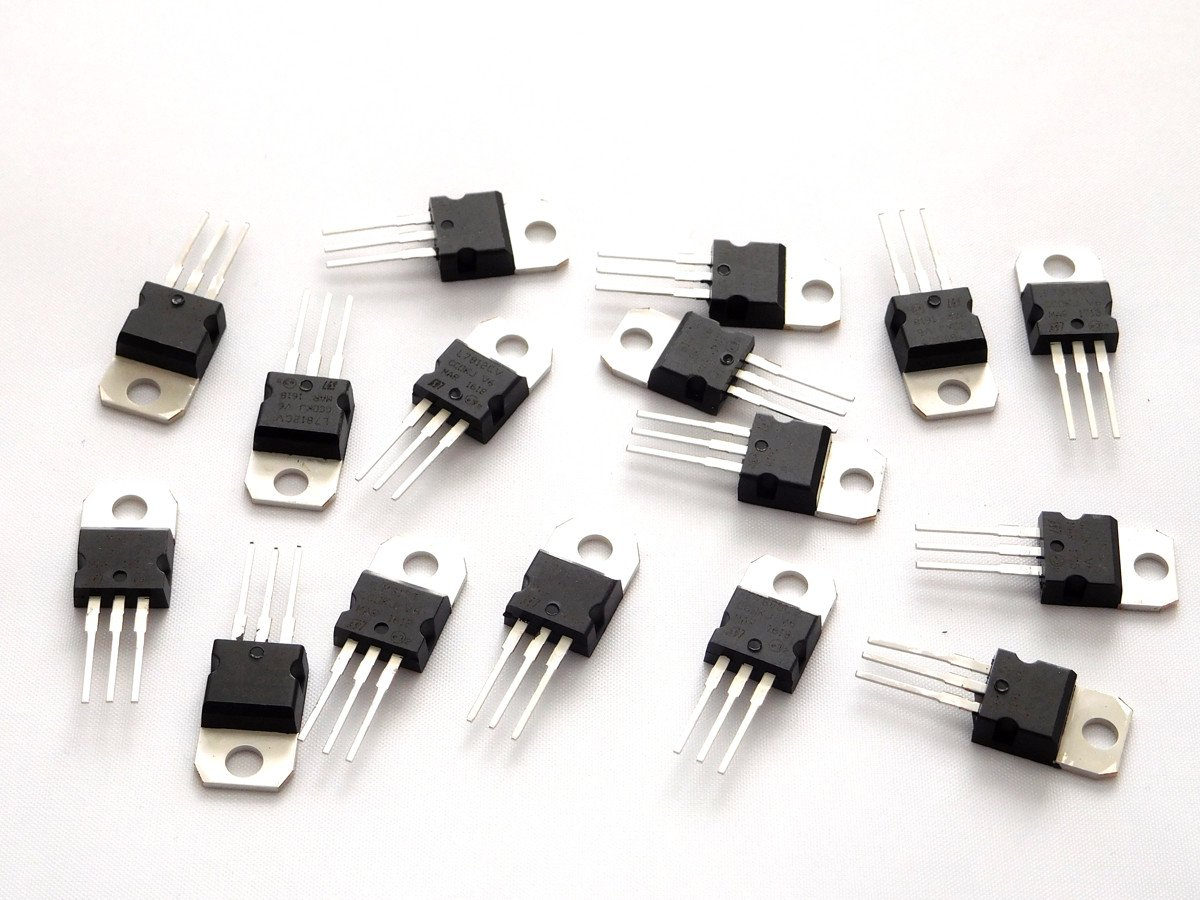 16 Pcs To 220 Voltage Regulators Kit 9 V Regulator Using 7809