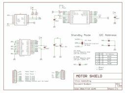 D1 Mini WEMOS compatible Motor Driver Shield