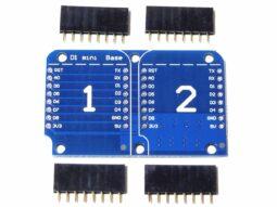 D1 Mini WEMOS compatible ESP8266 Dual Base
