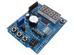 Arduino Multi-Function Shield Display Buttons Buzzer for UNO MEGA LEONARDO