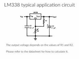 5 x LM388 LM388T Adjustable Voltage Regulator 5A