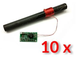 10 x WWVB NIST - MSF - JJY60 60kHz Atomic Clock Receiver and Antenna kit