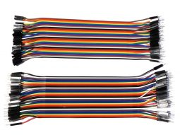 Dupont Bread Board Jumper Wires extra long