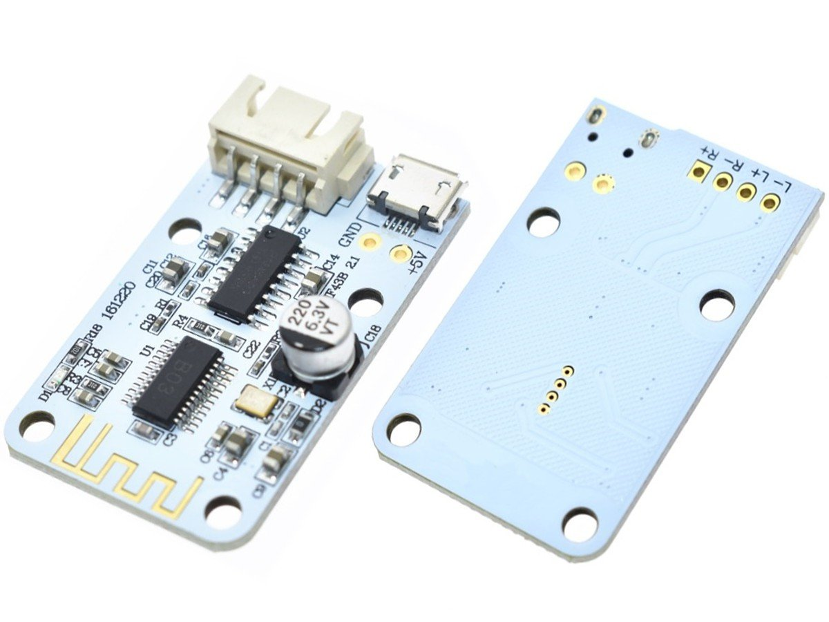 2 X 3 Watt Class D Bluetooth Stereo Audio Amplifier Module 10w Mini