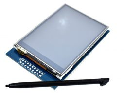 2.8 TFT Touch Display Shield for Arduino 320 x 240, 3.3-5V, HX8347