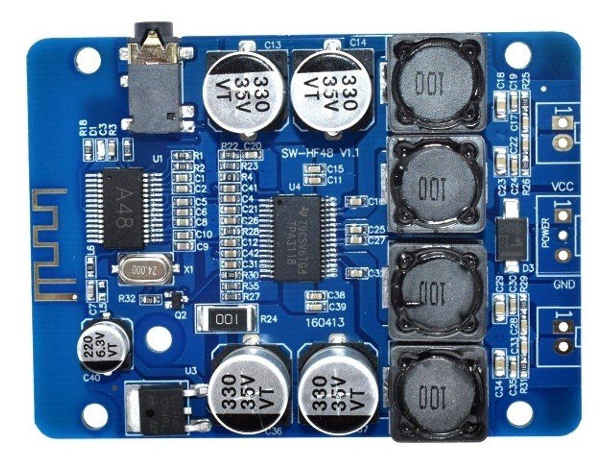 2 X 30 Watt Class D Bluetooth Stereo Audio Amplifier Module 32