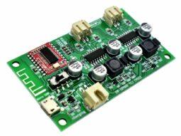 2 x 6 Watt Class-D Bluetooth Stereo Amplifier with 3.7V Battery Charger