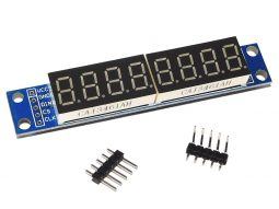 8-digit serial LED 7-segment display MAX7219