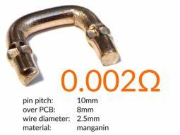 High-Power Measuring Resistor - Instrument Shunt - 0.002 Ω