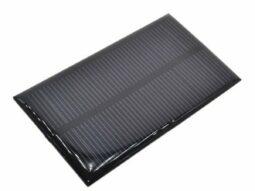 Solar Panel 110 x 60 mm, 5V, 1W
