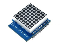 Wemos D1 Mini ESP8266 8x8 LED Matrix Shield TMP1640