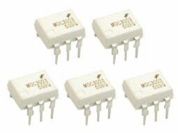 5 pcs MOC3023 Opto-Coupler DIP8 with Triac output 400V AC
