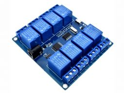 8 Relay Module ICSE014A with USB control for Windows Linux 250V 10A