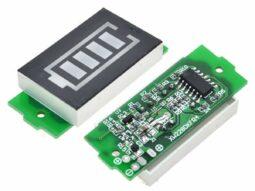 Lithium Battery Level Gauge 3.7V Battery