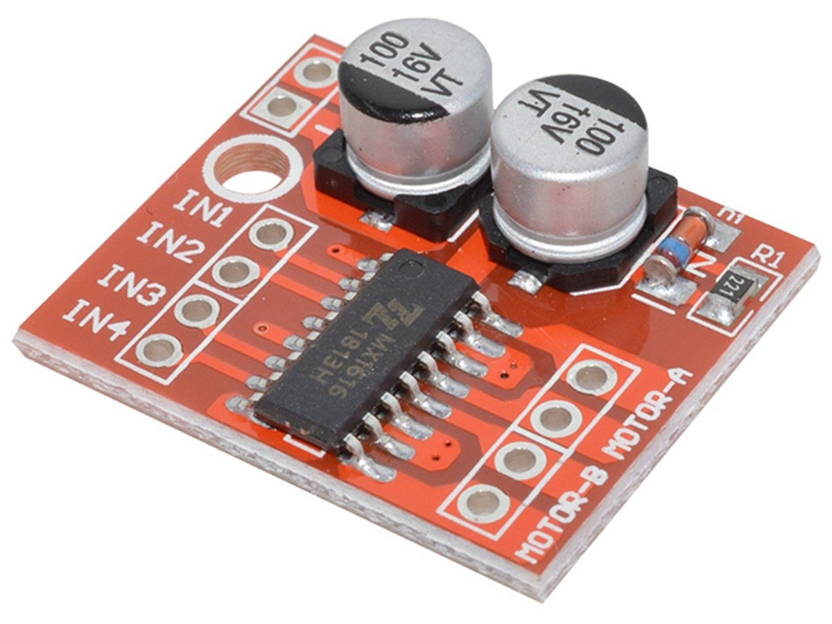 H Bridge Dc Motor Driver Module Mx1616 2 10v 15a Electronic Microcontroller Projects Circuit