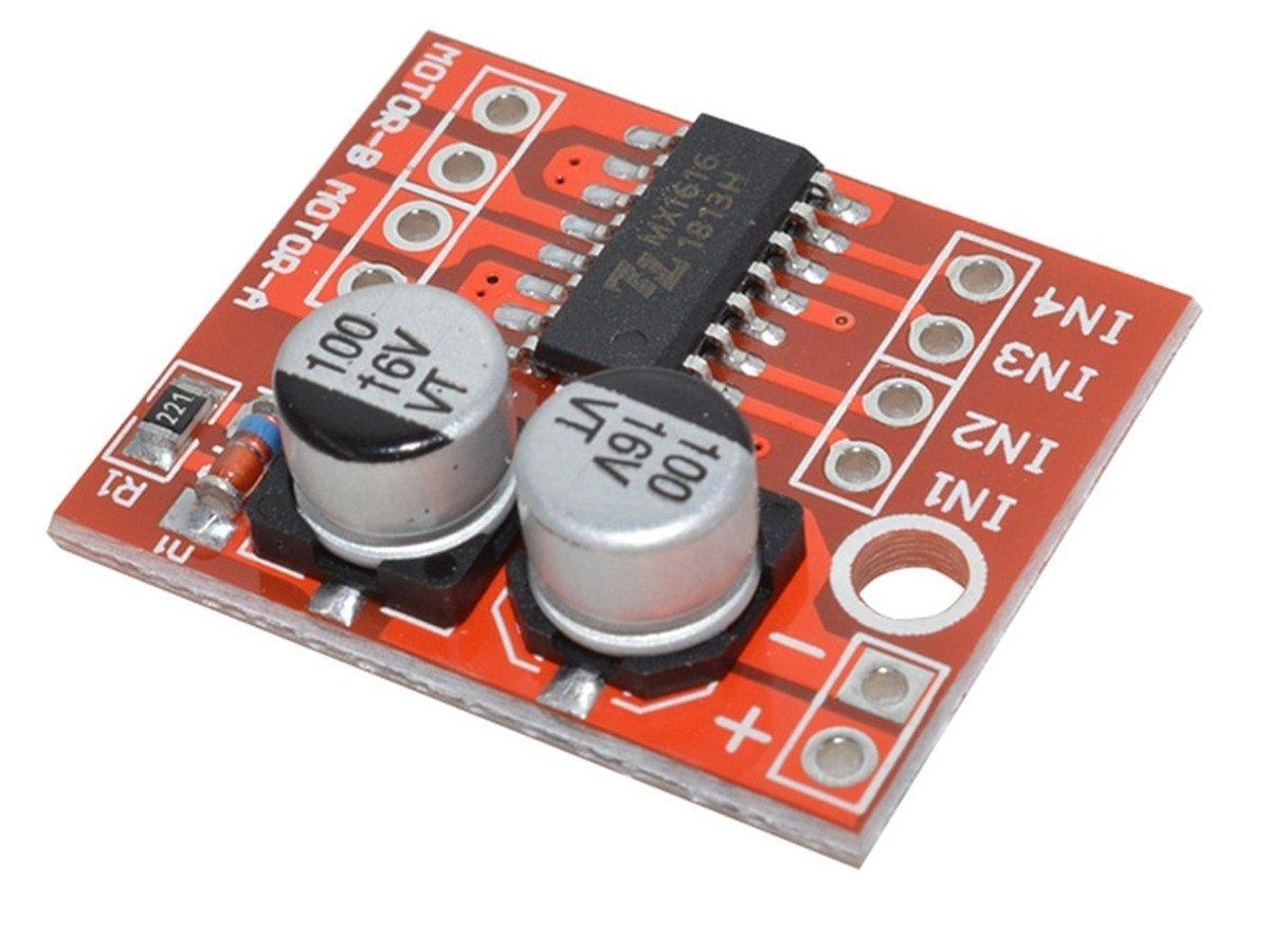 H Bridge Dc Motor Driver Module Mx1616 2 10v 15a Driving Using