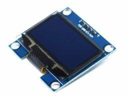 OLED 128x64 Pixel, I2C, 1.3 inch, SSD1306, 3-5V