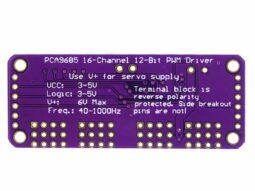PCA9685 16 Channel I2C 12-bit PWM Output Expander Module