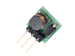 DC-DC Step-Up Switching Regulator like 7805, 0.9-5V input